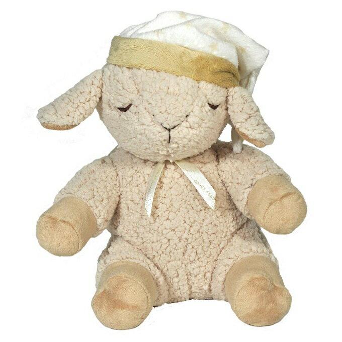 美國【Cloud b】寶貝舒眠音樂玩偶-綿羊(感應器組) - 限時優惠好康折扣