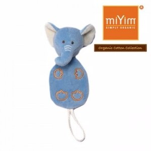 美國【miYim】安撫奶嘴鍊夾(芬恩象象) - 限時優惠好康折扣