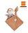 美國【miYim】有機棉系列安撫巾(布布小猴) - 限時優惠好康折扣