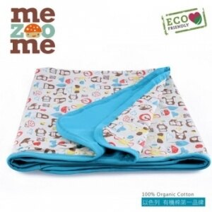 以色列【Mezoome】有機棉被毯(舒適被-土耳其藍)