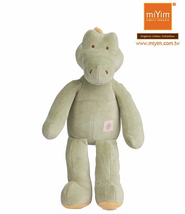 美國【miYim】有機棉安撫娃娃 32cm(阿里鱷魚)