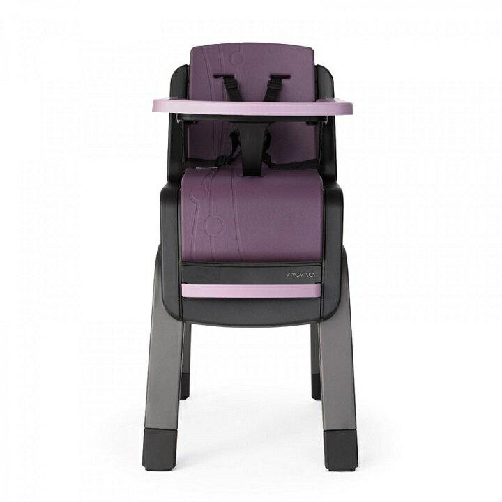 【贈快樂寶貝禮盒+收納袋+玩偶(隨機)】荷蘭【Nuna】ZAAZ 高腳椅(紫黑) 2