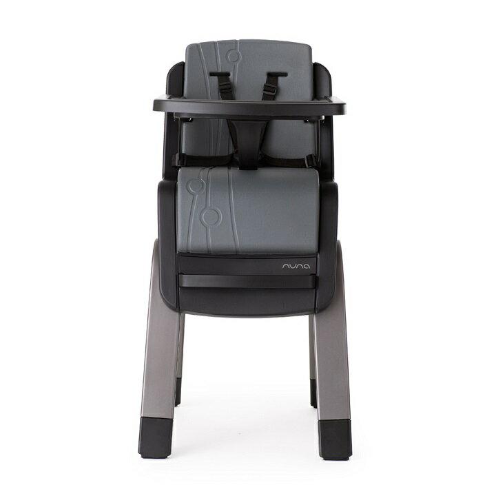 【贈快樂寶貝禮盒+收納袋+玩偶(隨機)】荷蘭【Nuna】ZAAZ 高腳椅(灰黑) 2