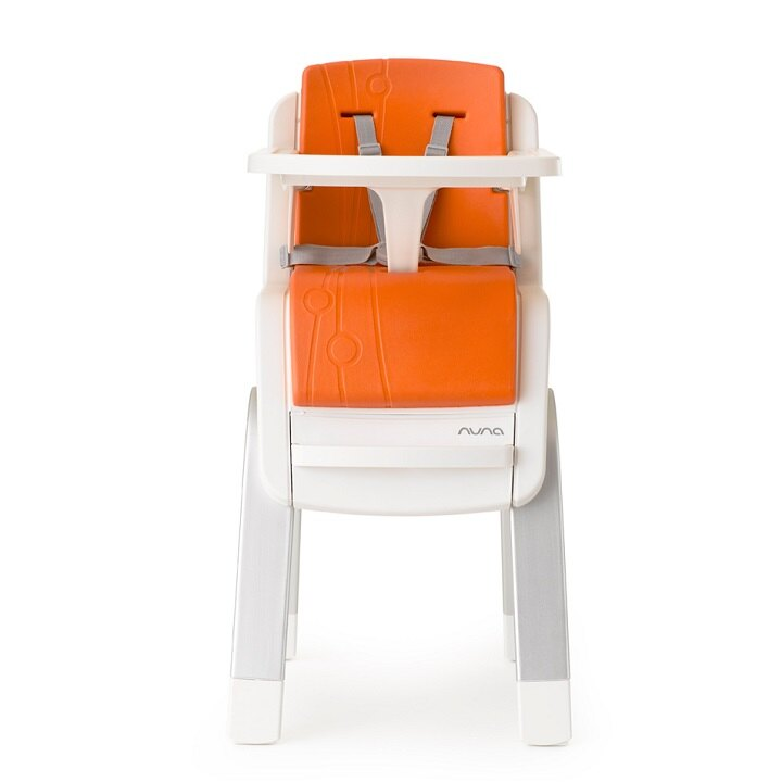 【出清$8280再贈Edison幼兒湯叉組(隨機)】荷蘭【Nuna】ZAAZ 高腳椅(橘色) 2