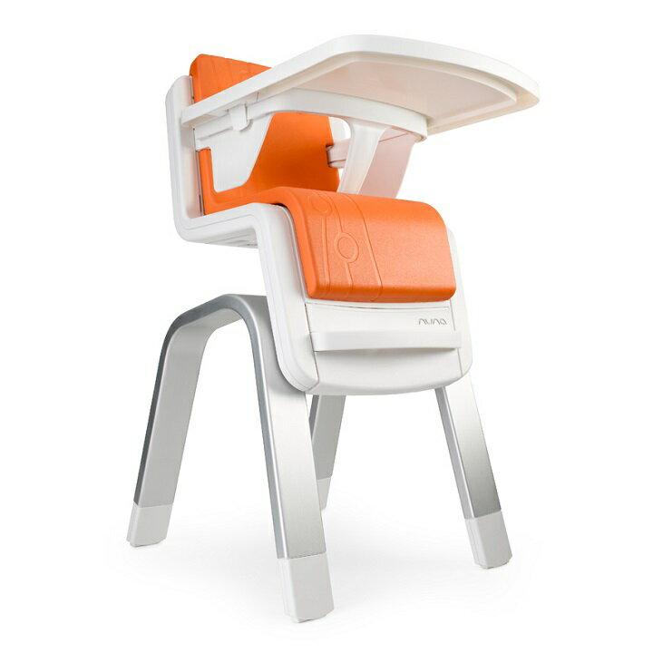 【出清$8280再贈Edison幼兒湯叉組(隨機)】荷蘭【Nuna】ZAAZ 高腳椅(橘色) 1