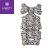 韓國【 Borny 】英倫頂級款全身包覆墊(推車、汽座、搖椅適用) (灰小花) - 限時優惠好康折扣