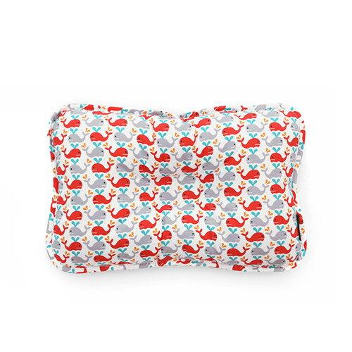 韓國【 Borny 】3D透氣純棉塑型嬰兒枕(6個月以上適用) (小海豚) - 限時優惠好康折扣