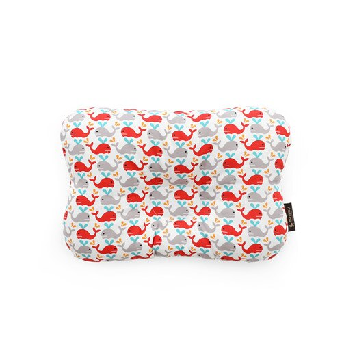 韓國【 Borny 】 3D透氣蜂巢塑型嬰兒枕(0~6個月適用)(小海豚) - 限時優惠好康折扣