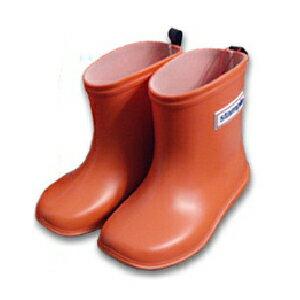 【本月贈鞋墊】日本【Stample】兒童雨鞋(陽光橘) 0