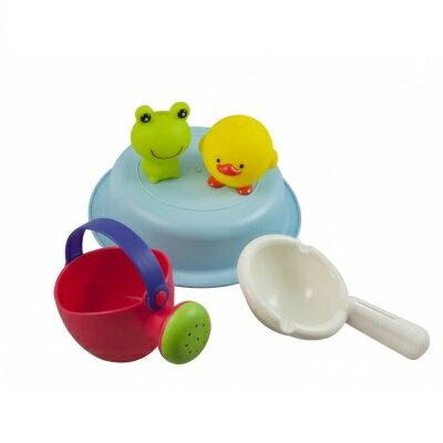 日本【ToyRoyal 樂雅】Flex洗澡系列 歡樂青蛙組 - 限時優惠好康折扣