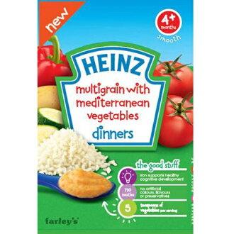 美國【亨氏Heinz】地中海蔬菜米麥精(125g)