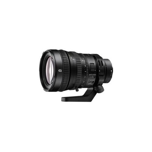 "Sony - 28 mm to 135 mm - f/4 - Zoom Lens for Sony E - 95 mm Attachment - 0.15x Magnification - 4.8x Optical Zoom - Optical IS - 4""Diameter 1"