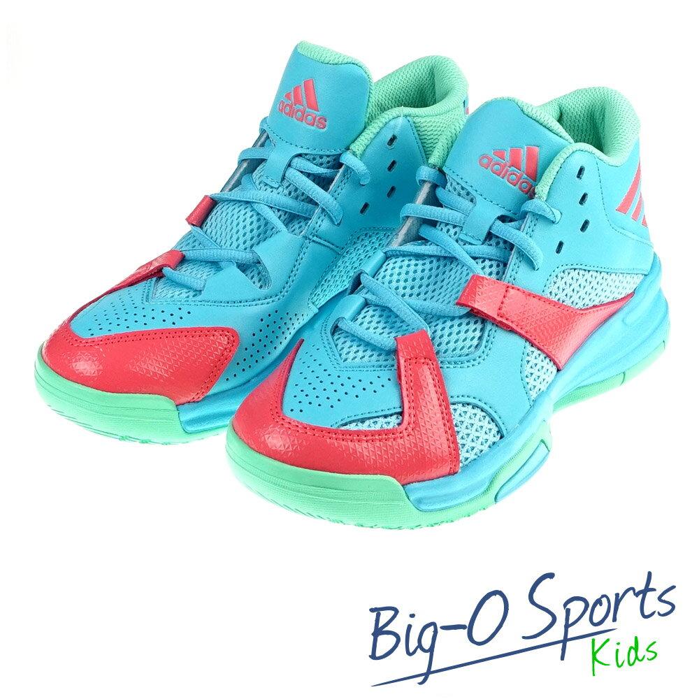 ADIDAS 愛迪達 FIRST STEP K 復古籃球鞋 女 大童 AQ8502