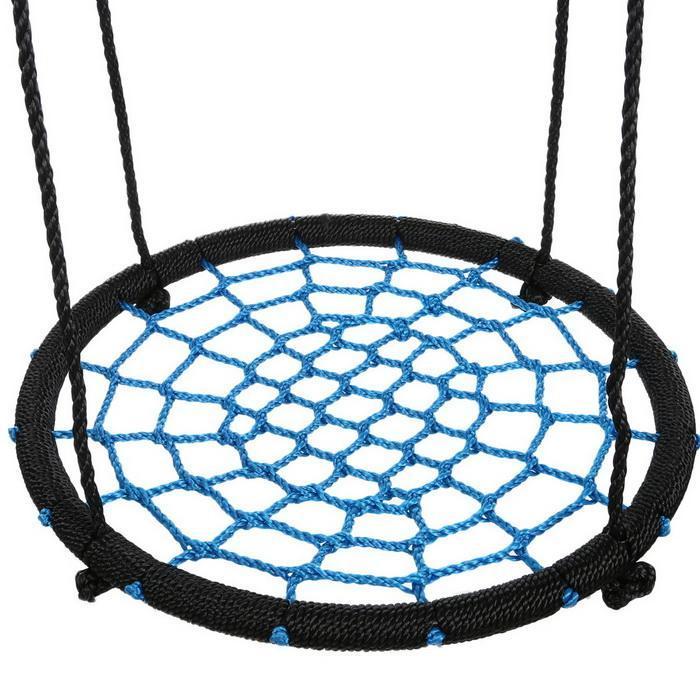 Outdoor Swing 24inch Diameter Foldable Tree Net Swing 1