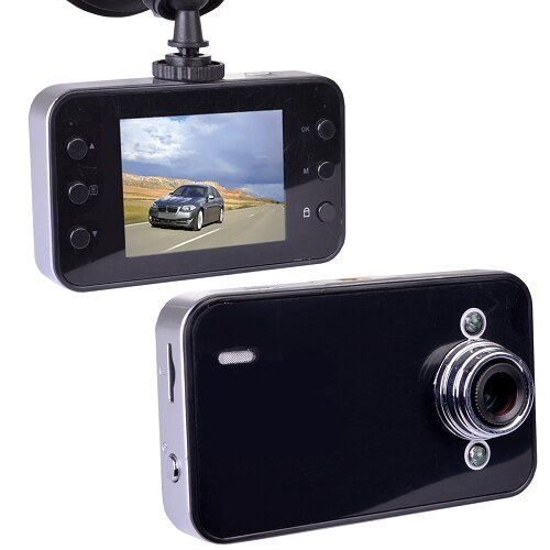 "Automotive 720p HD DVR Digital Video 2.4"" LCD Display Dashcam w/ Night Vision 1"