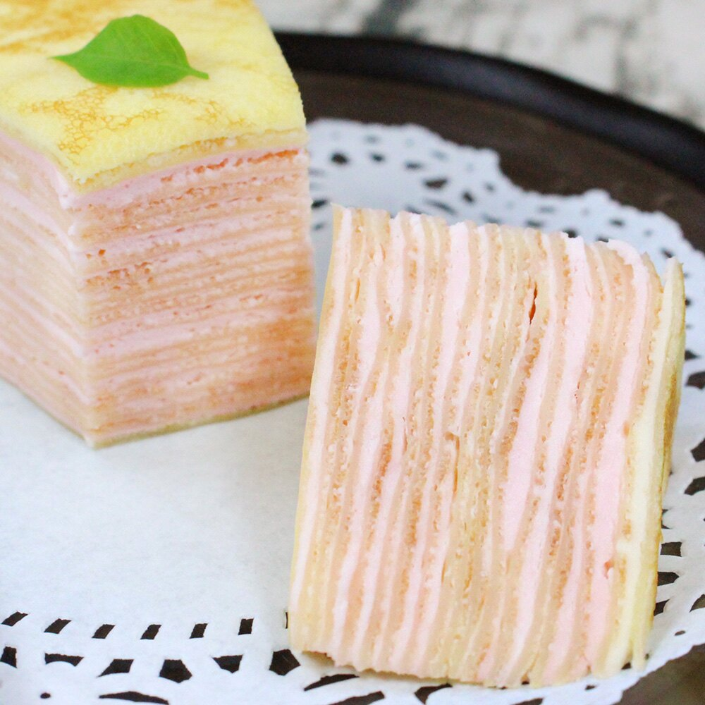 新品上市【塔吉特】法式草莓千層(8吋)★APP下單滿1000折100 3