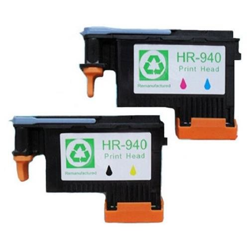 2 Pack Non-HP 940 Print Head C4900A C4901A For HP officejet pro 8000 8500 8500A 0