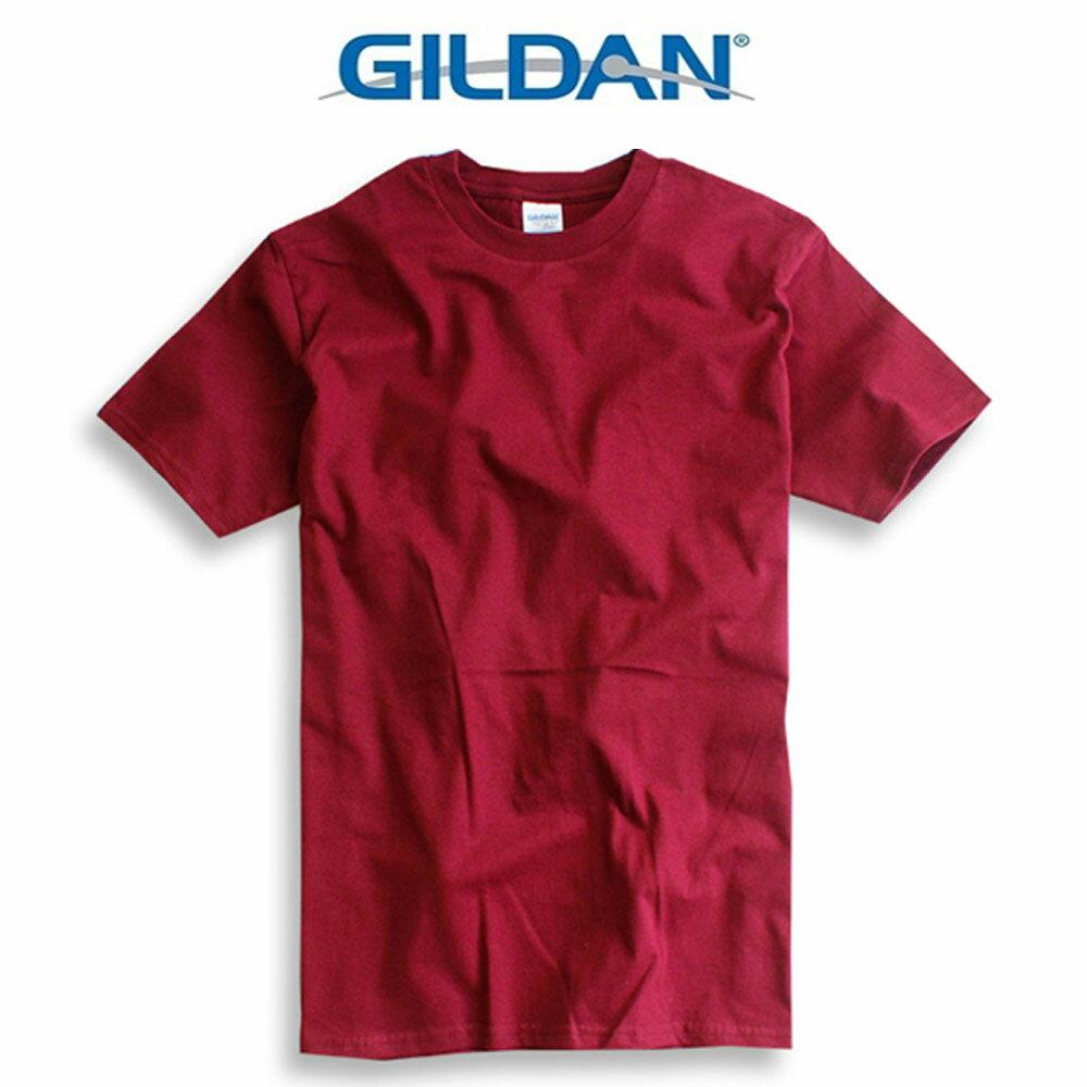 吉爾登GILDAN美國棉素T 圓領 GD美式休閒-石楠灰 3