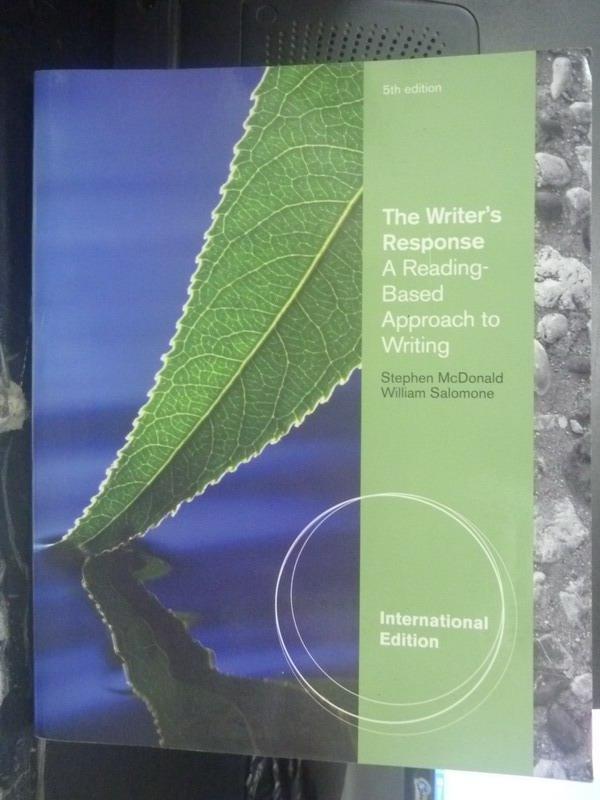 【書寶二手書T9/大學文學_YJC】The writer's response:a reading5/e