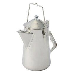 【速捷戶外】美國Coleman CM-26788 不鏽鋼火爐茶壺/露營水壺, 1.6L 燒水壺茶壺煮水壺