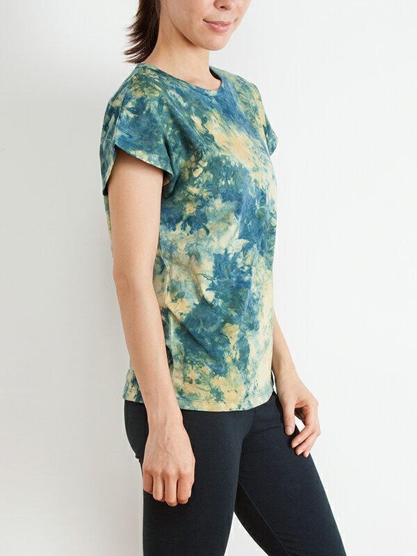【Bali】100%有機棉自然紮染T恤 2
