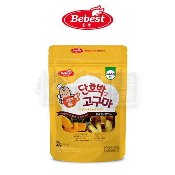 韓國Bebest貝思寶寶蔬菜泥-紅薯南瓜30g【悅兒園婦幼生活館】