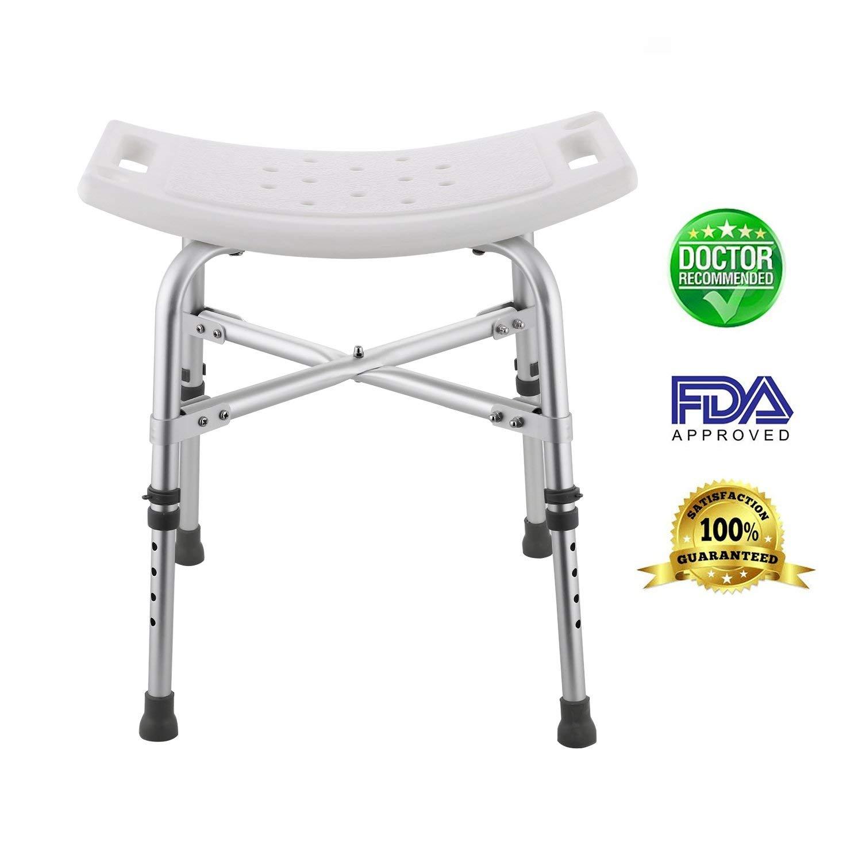 MIRAGE: Modrine Shower Stool,Spa Bathtub Shower Lift Chair, Protable ...