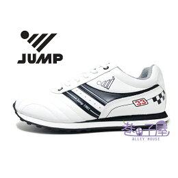 JUMP將門 柔皮經典輕量復古運動跑鞋 製造