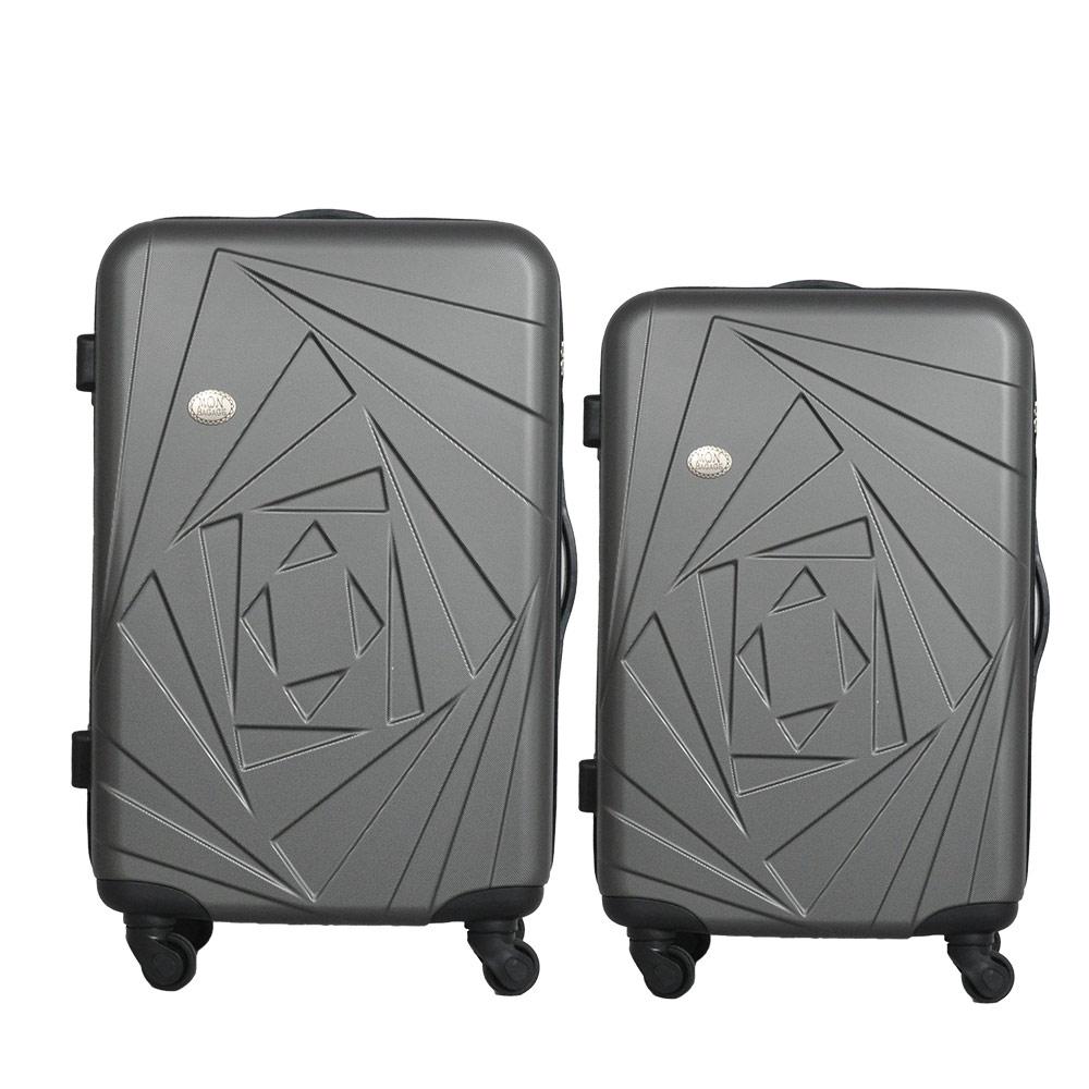 Mon Bagage 巴黎風情系列ABS輕硬殼 28寸 24寸 兩件組 旅行箱 行李箱 3