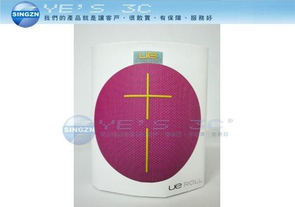 「YEs 3C」羅技 UE ROLL 無線藍牙喇叭 IPX7防水 全方位音效 紫色