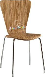 ╭☆雪之屋居家生活館☆╯1024-17J007-2電鍍腳貼皮造型板造型餐椅