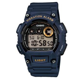 CASIO 卡西歐/極限運動流行腕錶/W-735H-2A