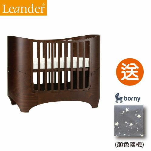 【即日起~5/3贈韓國borny安撫毯$2500】丹麥【Leander】現代經典成長型嬰兒床(3色) 3