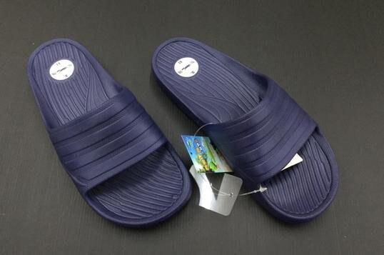 ※555鞋※深藍色 母子鱷魚 馬卡龍色 浴室 海灘 防水 拖鞋 一體成形 氣墊 超舒適運動休閒拖鞋
