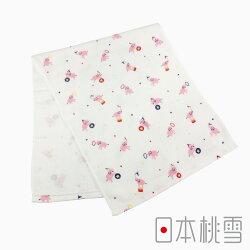 日本桃雪【紗布毛巾】小小馬戲團系列共3款(34x86cm)