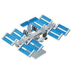 nanoblock 河田積木 迷你積木 太空站 NBH-129 【鯊玩具Toy Shark】