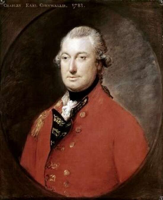 Salford City Programme Gainsborough: Posterazzi: Charles Cornwallis Stretched Canvas
