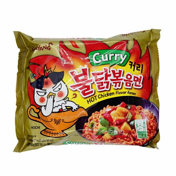 韓國 SamYang 三養 火辣雞肉咖哩風味鐵板炒麵 140g 單包【庫奇小舖】