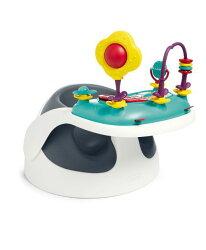 【淘氣寶寶*外盒有污漬,保證全新品販售】【Mamas & Papas】二合一育成椅v2-岸岩藍(附玩樂盤)