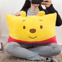 小熊維尼周邊商品推薦PGS7 迪士尼系列商品 - 小熊 維尼 Winnie The Pooh 雙人枕 抱枕 靠枕 娃娃【SJA7517】