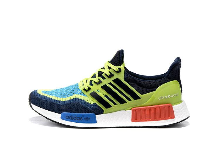 Adidas NMD Ultra Boost 藍綠黑 男款