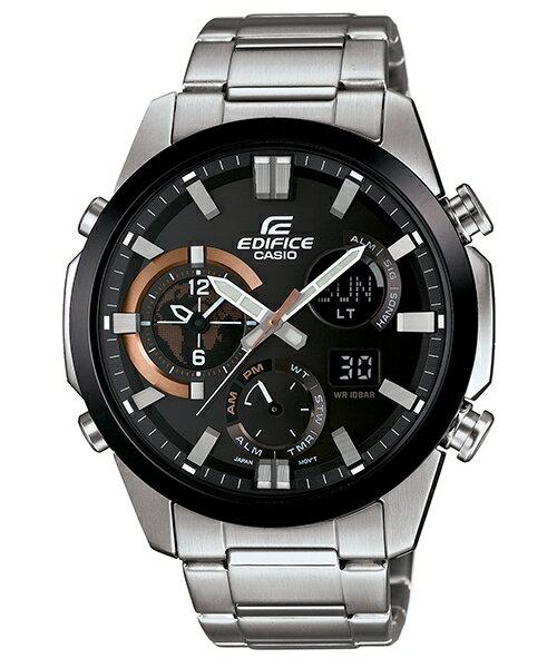 CASIO EDIFICE ERA-500DB-1A科技感流行時尚腕錶/黑面45mm