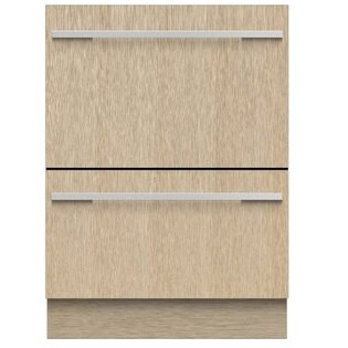 Fisher&Paykel菲雪品克DD60DHI9雙層設計師款嵌門板抽屜式洗碗機(14人份)