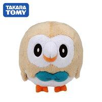 Pokemon:精靈寶可夢到【日本正版】精靈寶可夢 木木梟 絨毛公仔 娃娃 玩偶 神奇寶貝 寶可夢 TAKARA TOMY - 872887