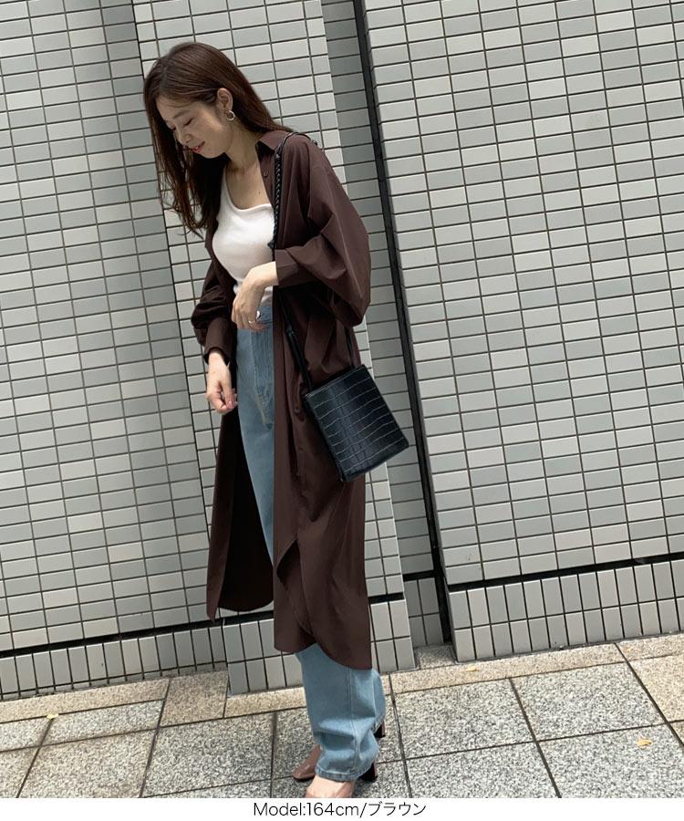 日本Kobe lettuce  /  率性長版襯衫外套 罩衫    /  e2534  /  日本必買 日本樂天直送  /  件件含運 5