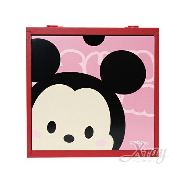 X射線【C385174】Tsum米奇Mickey中型積木盒,置物櫃收納櫃收納盒抽屜收納盒木製櫃木製收納櫃收納箱桌上收納盒