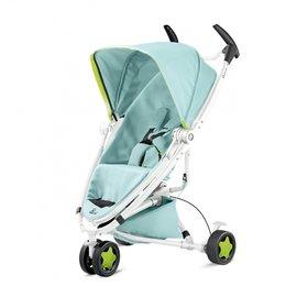 【淘氣寶寶】荷蘭 Quinny ZAPP xtra2 Pure 嬰兒手推車-單推車(不含提籃、雨罩、結合器)【白管藍】