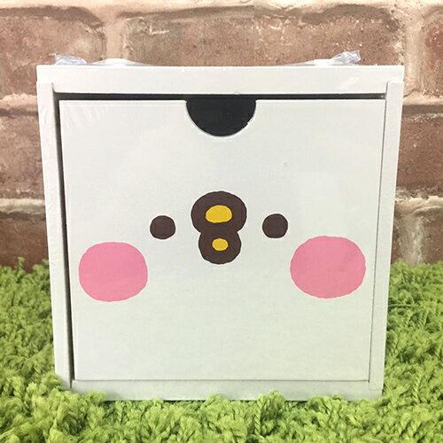【真愛日本】17090800006 積木收納盒-p助白 卡那赫拉的小動物 兔兔 P助 置物櫃 收納櫃 抽屜櫃