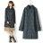 雨衣 格紋鈕釦防水雨衣 / 風衣外套【EL1009】 BOBI  04 / 07 0