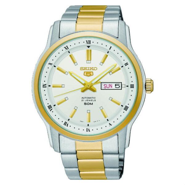 Seiko精工錶7S26-04S0KS(SNKP14J1)經典機械腕錶金42.3mm
